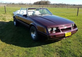 Ford Mustang Convertible – 1986